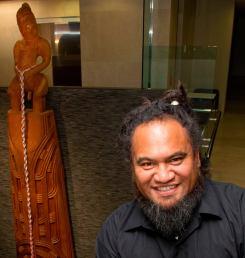 Katz at Westpac NZ (Auckland) with Maui